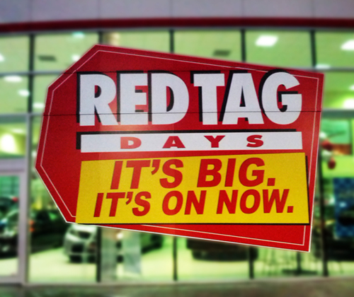 Red Tag Windows