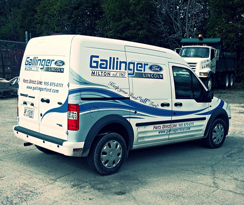 Gallinger Ford Parts Shuttle