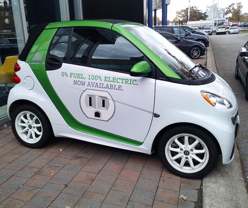 100% Electric smart