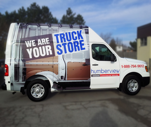 Humberview Nissan Truck Store